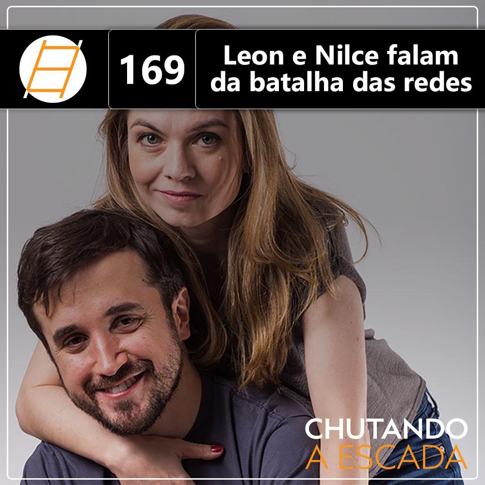 Leon e Nilce falam da batalha das redes